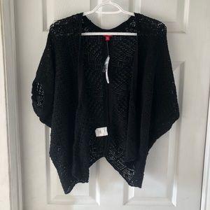 NWT BONGO Crochet Cropped Cardigan
